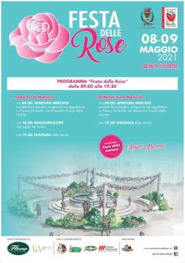 Locandina festa delle rose